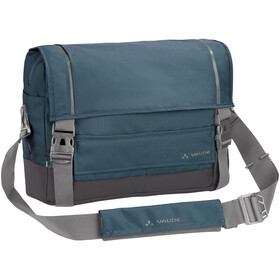 VAUDE Cyclist Messenger Bag L, blue gray